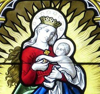Oração da Ave Maria em Inglês, Italiano, Espanhol, Francês e Alemão.